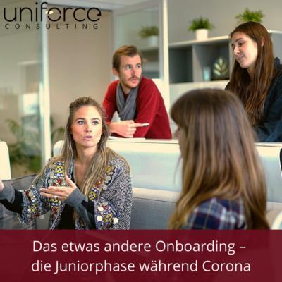 Das etwas andere Onboarding – die Juniorphase während Corona